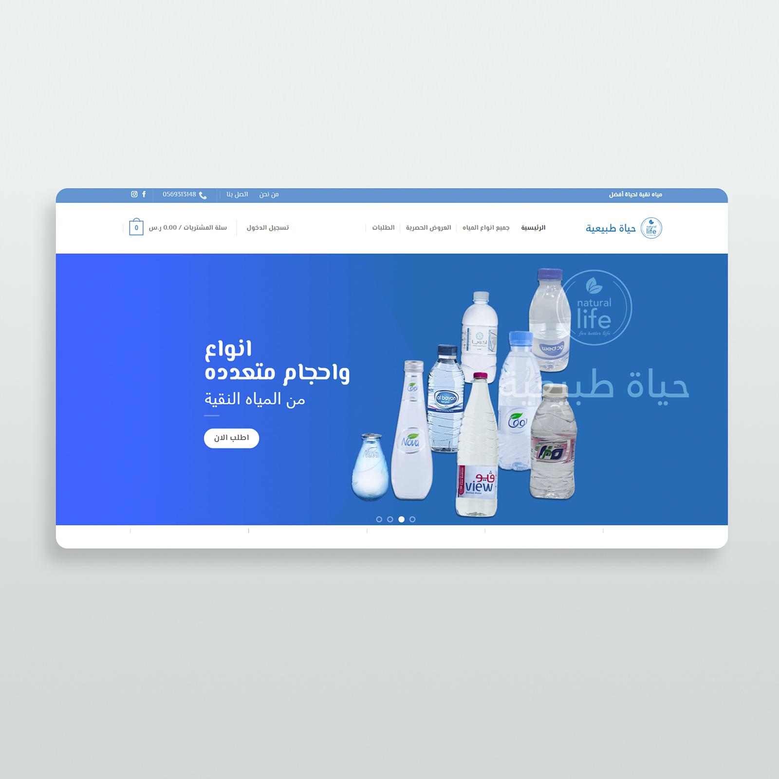 website design natural life